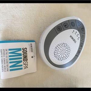 Mini travel noise maker